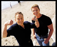Jack LaLanne and Bill Phillips