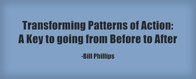 Transforming Patterns of Action