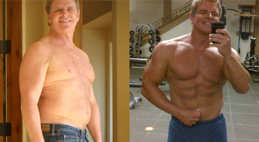 Bill Phillips Before to After